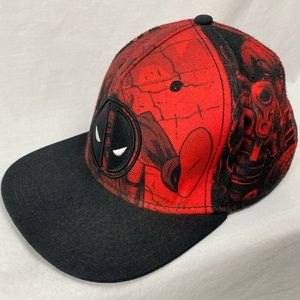 Men's Marvel Deadpool Snap Back Hat